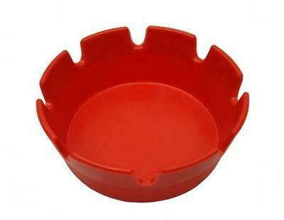Posacenere 10 cm Rosso AST-4RD Tirolix