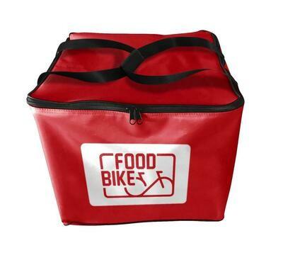 Zaino Food Bike Termico 42x42 cm Rosso 116253 Polibox