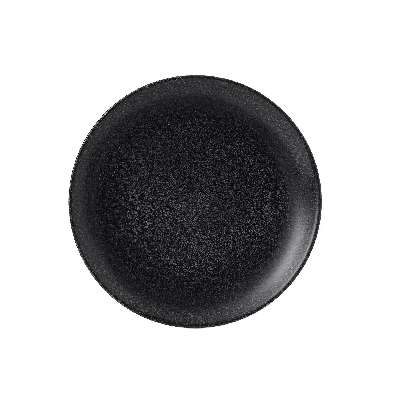 Piatto coupè 21.7 cm - Evo Origins Midnight Black Dudson
