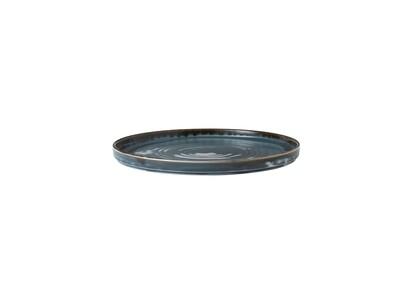 Piatto con bordo verticale 21 cm - Harvest Blue Dudson