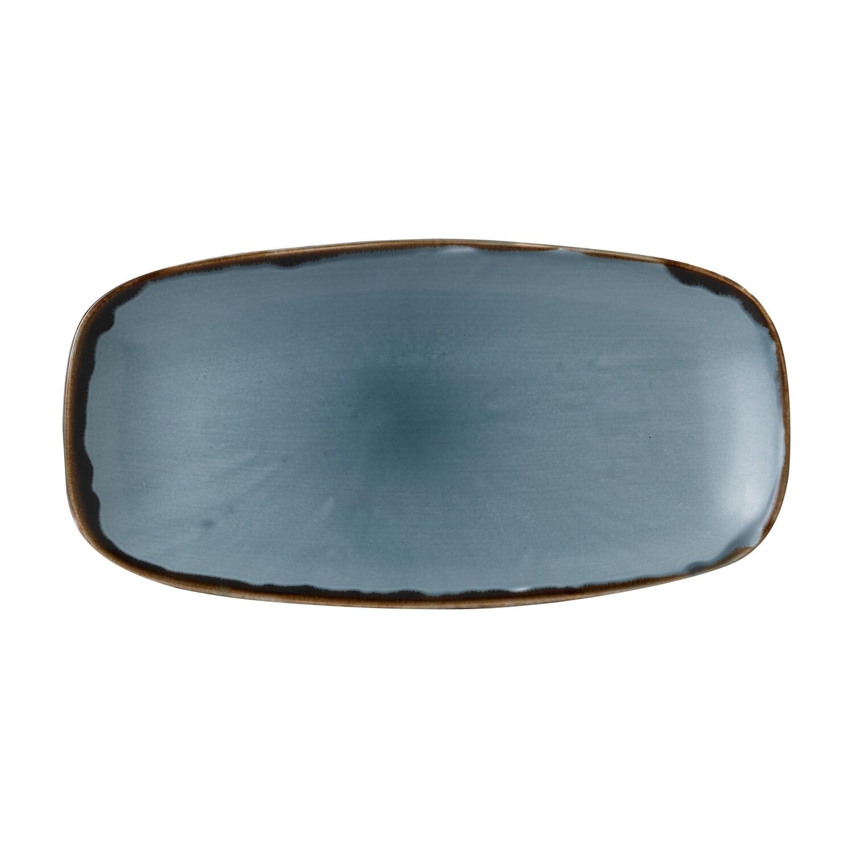 Chef's piatto rettangolare 29.8x15.3 cm - Harvest Blue Dudson