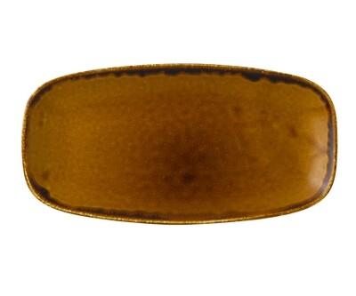 Chef's piatto rettangolare 29.8x15.3 cm - Harvest Brown Dudson