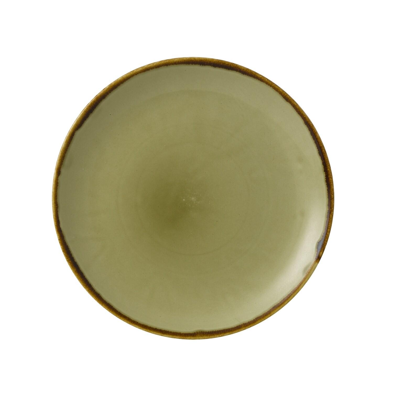 Piatto coupè 21.7 cm - Harvest Green Dudson