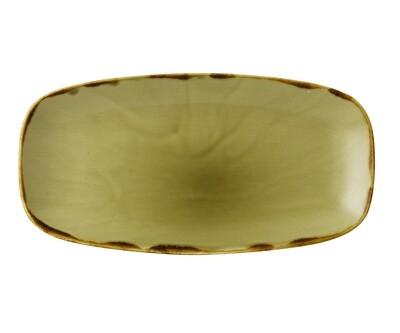 Chef's piatto rettangolare 29.8x15.3 cm - Harvest Green Dudson