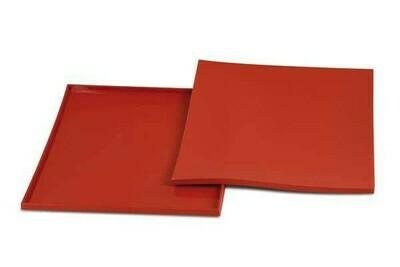 Tapis Roulade 32x32 cm Rosso TAPISROULADE03 Silikomart