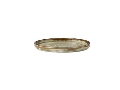Piatto con bordo vericale 21 cm - Harvest Linen Dudson