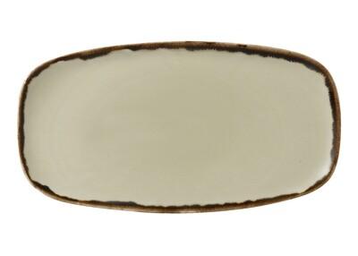 Chef's piatto rettangolare 35.5x18.9 cm - Harvest Linen Dudson