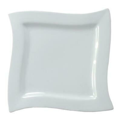 Tirolix - Piatto Quadro Onda 28 cm Plates 3371
