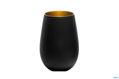 OLYMPIC NERO-ORO-BICCHIERE CL 46,5