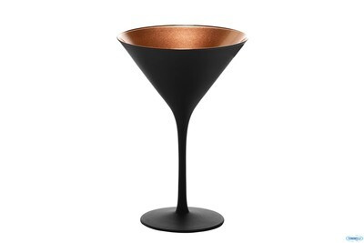 OLYMPIC NERO-BRONZO-CALICE COCKTAIL CL24