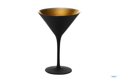 OLYMPIC NERO-ORO-CALICE COCKTAIL CL24