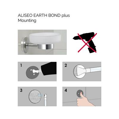 Glass Solution kit montaggio Tubo da 15 g