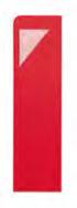Portaposate Giò Rosso con tovagliolo Color Rosso 20x40  conf 720 pz