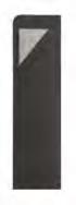 Portaposate Giò Antracite con tovagliolo Color Grigio 20x40  conf 720 pz