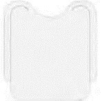 Bavaglio Bianco White Bib 42x47 conf 500 pz