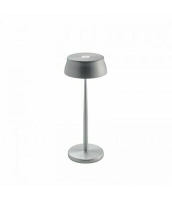 Lampada da tavolo Sister Light Aluminio - Zafferano