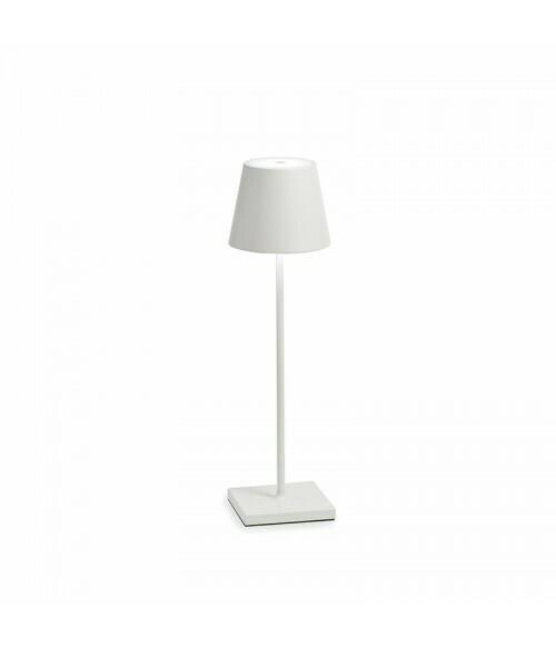 Lampada da Tavolo Poldina Pro Bianco - Zafferano