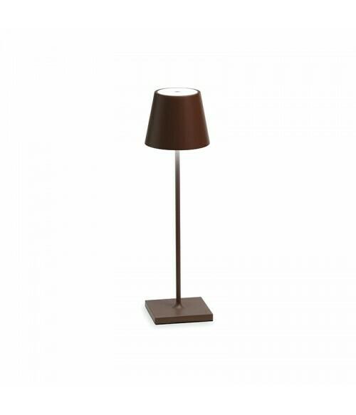 Lampada da Tavolo Poldina Pro Corten - Zafferano