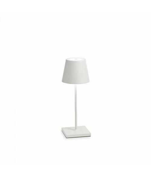 Lampada da Tavolo Poldina Pro Mini Bianco - Zafferano