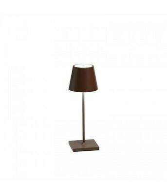 Lampada da Tavolo Poldina Pro Mini Corten - Zafferano