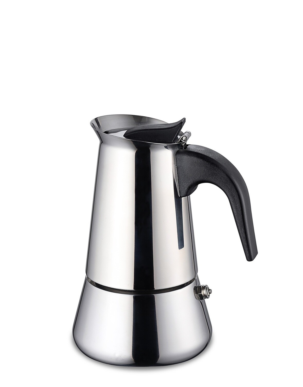 Macchina espresso in acciaio inox 200 ml - Weis