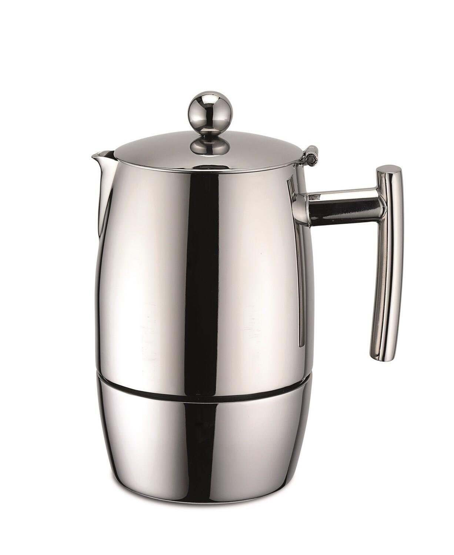 Caffettiera espresso in acciaio inox 500 ml - Weis