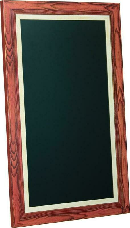 Lavagna 60x100 cm Legno Lisbona MT202 - Nero Lavagne
