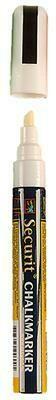 Pennarello Medium Per Lavagna Bianco SMA510-WT Securit