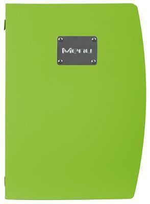 Portamenù 34x25 cm Verde Rio MC-RCA4-GR Securit