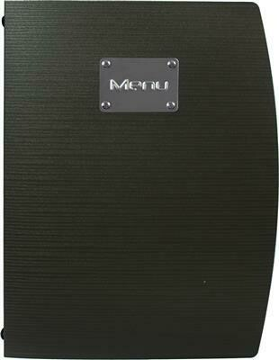 Portamenù 34x25 cm Nero Rio MC-RCA4-BL Securit