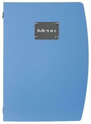 Portamenù 34x25 cm Blu Rio MC-RCA4-BU Securit