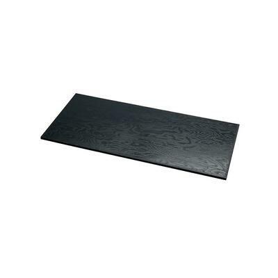 Tagliere Rettangolare Effetto Legno 50.5x22.5 cm Nero 7477 Mc