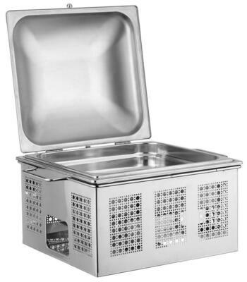 Chafing Dish Quadro 2/3 46x40 cm 30595533 Pinti