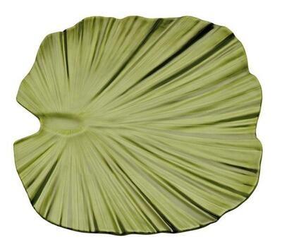 """APS - Ciotola foglia di palma """"NATURAL COLLECTION"""" 27 x 27 cm"""