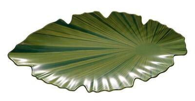 """APS - Ciotola foglia di palma """"NATURAL COLLECTION"""" 25 x 52 cm"""