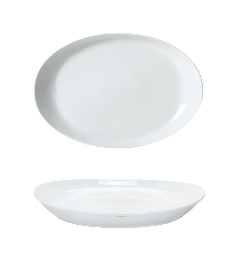 Piatto Ovale Coupe 34 cm Forma 02 0223 Royal Porcelain