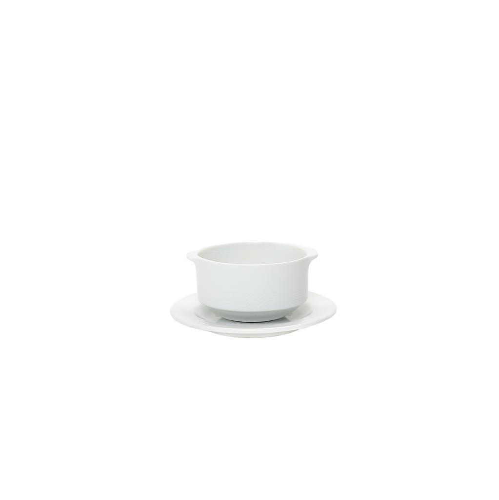 Piatto Per Tazza Colazione/Brodo 16 cm Forma 19 1910 Royal Porcelain