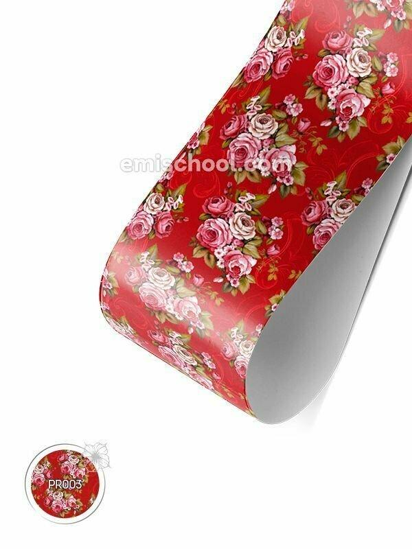 PRINCOT Victorian Roses in Crimson
