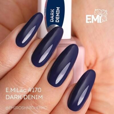 E.MiLac FQ Dark Denim #170, 9 ml.