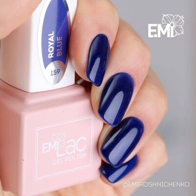 E.MiLac FQ Royal Blue #159, 9 ml.