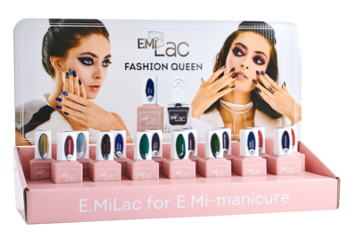 SET E.MiLac Fashion Queen +Display