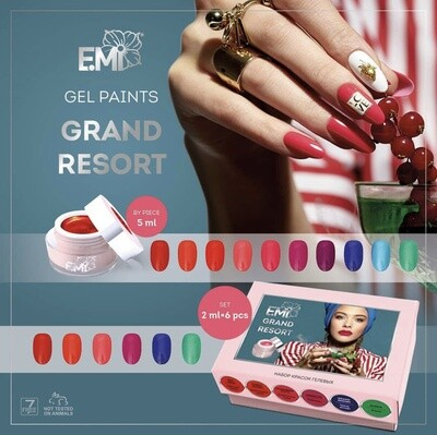 Set gel paint Grand Resort