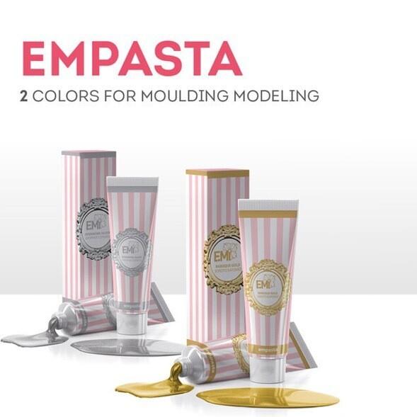 SET EMPASTA Baroque Gold and EMPASTA Openwork Silver, 5 ml.