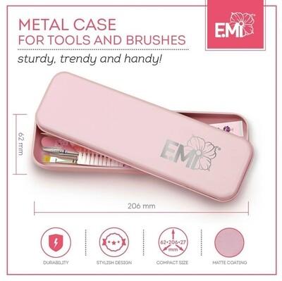 Metal Case for tools and brushes (laatste met kleine deuk)