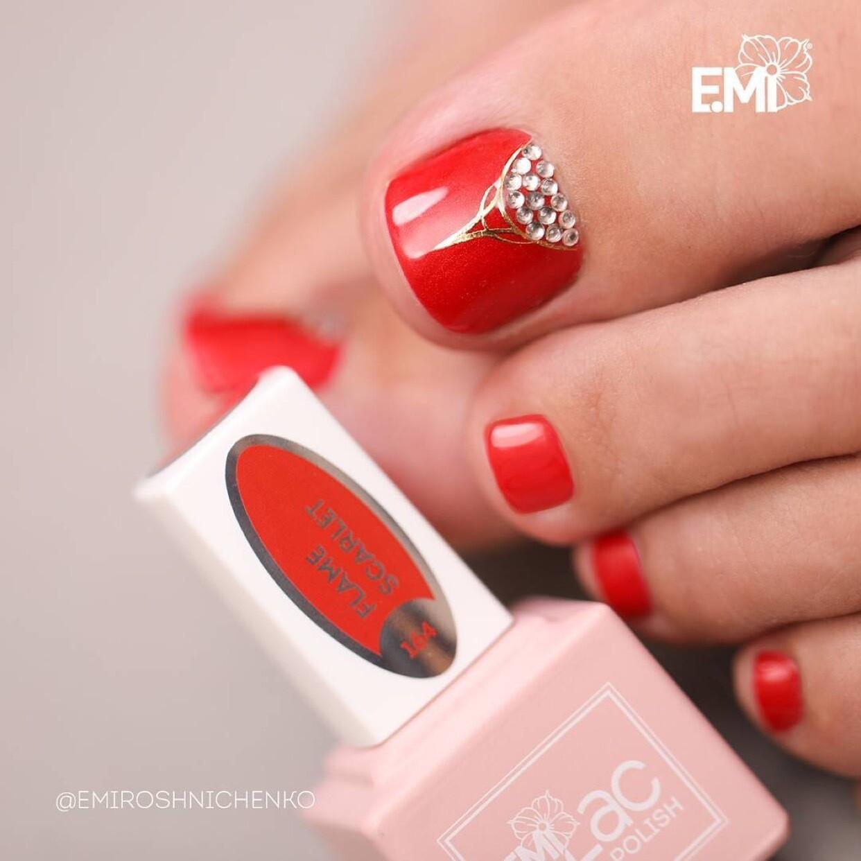 E.MiLac FQ Flame Scarlet #164, 9 ml.