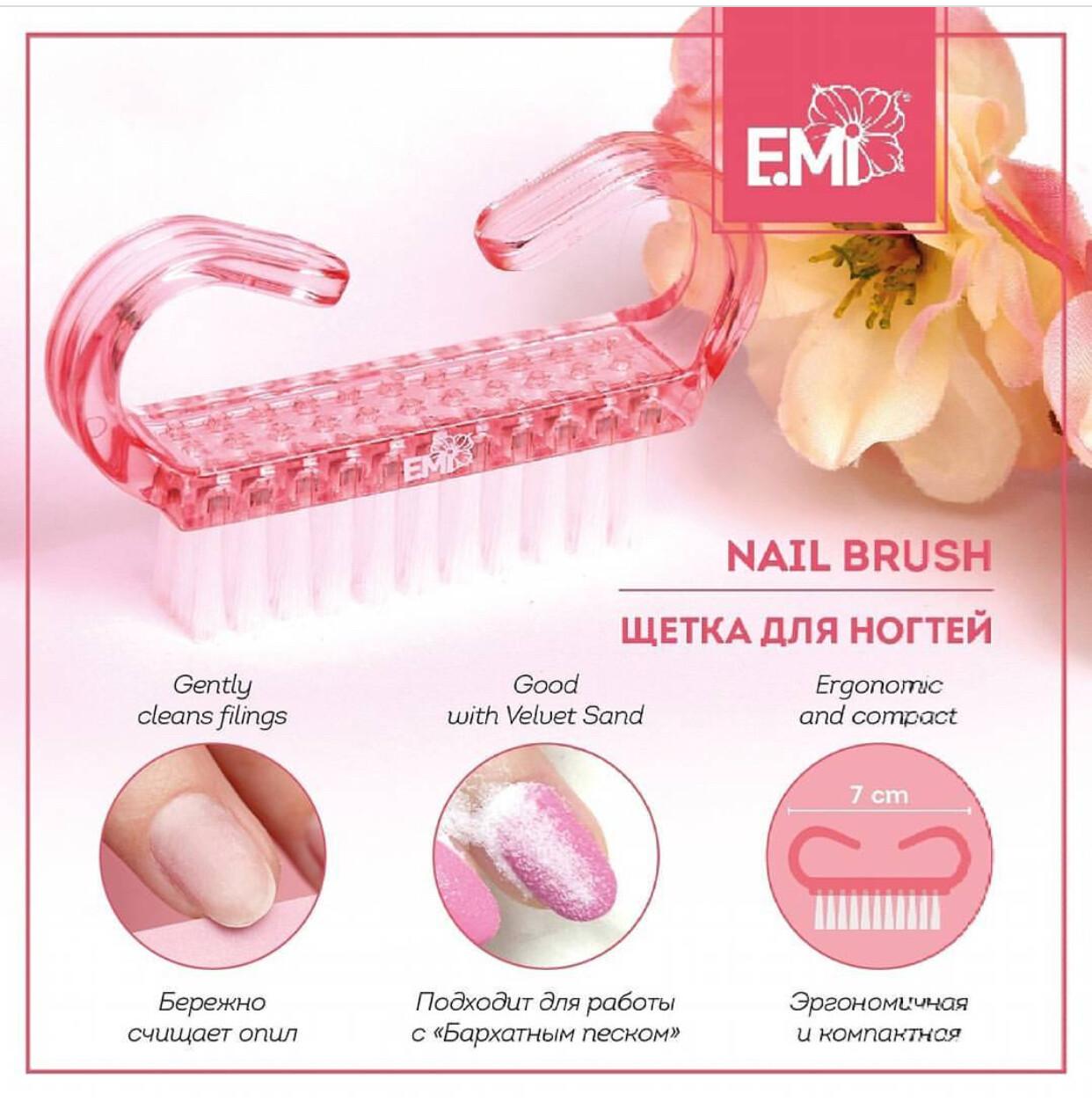 Brush with E.Mi logo