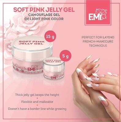 Soft Pink Jelly Gel, 5/15/50/100 g.