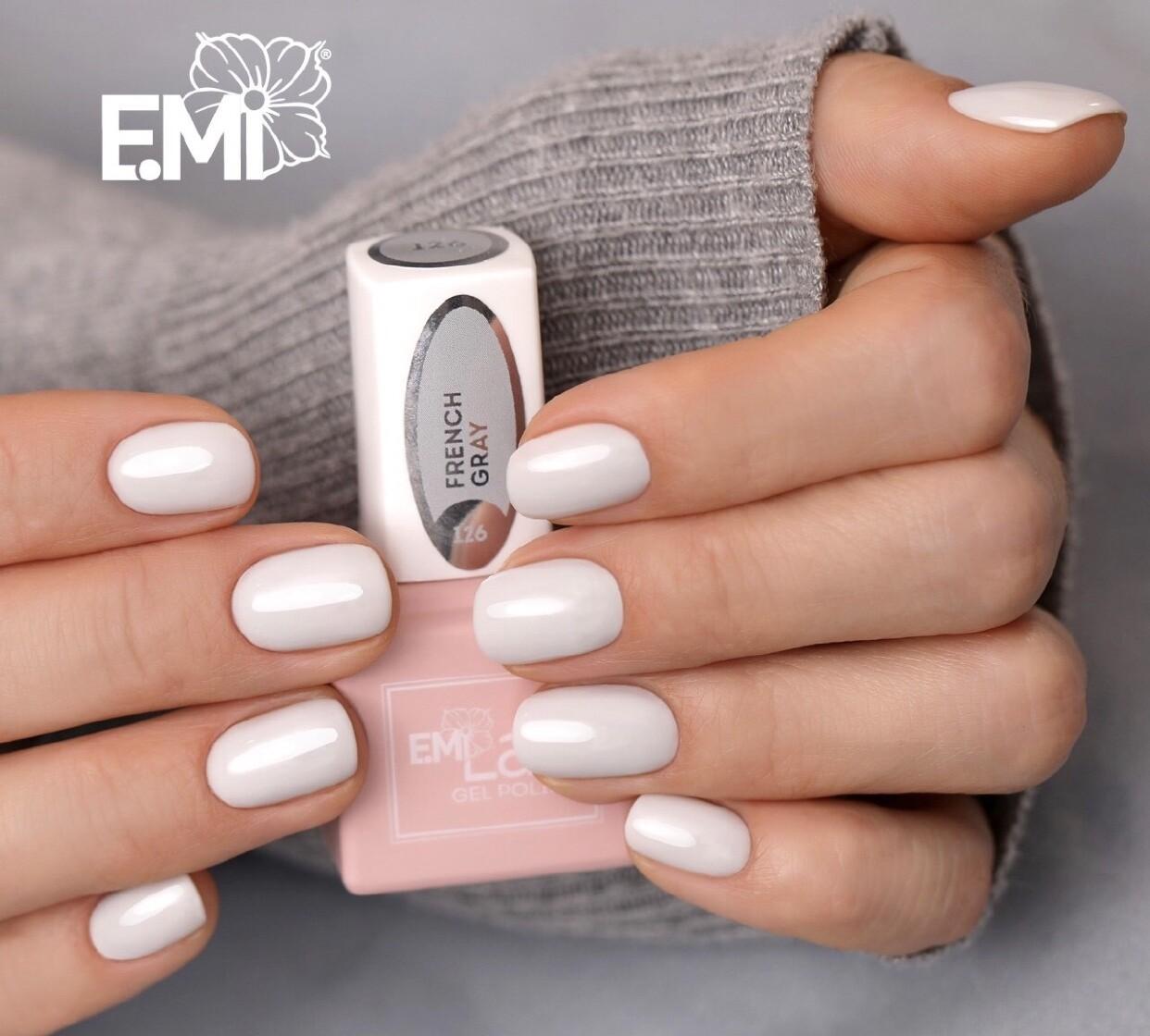 E.MiLac TGR French Gray #126, 9 ml.