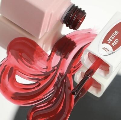 E.MiLac GL Jester Red #257, 9 ml.