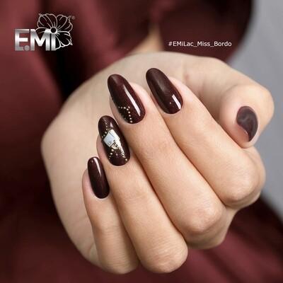 E.MiLac HP Miss Bordo #220, 9 ml.